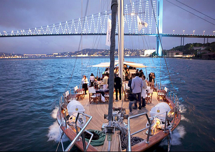 Cruising on the Bosphorus